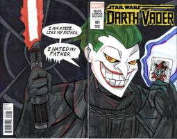 Like My Father- DARTH VADER by Dreven