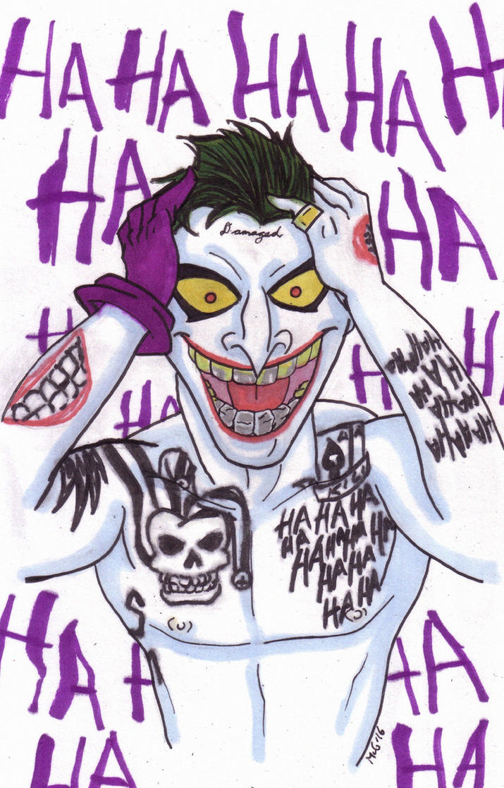 SUICIDE SQUAD Joker Timm-Style by Dreven