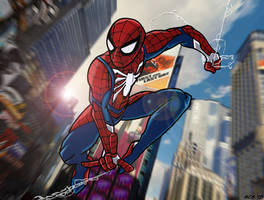 SPIDER-MAN- Be Greater by Dreven