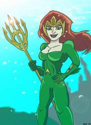 MERA- Queen of the Deep by Dreven