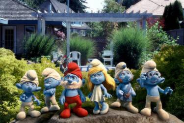 Smurfs in Surrey BC by StudioAdVentures