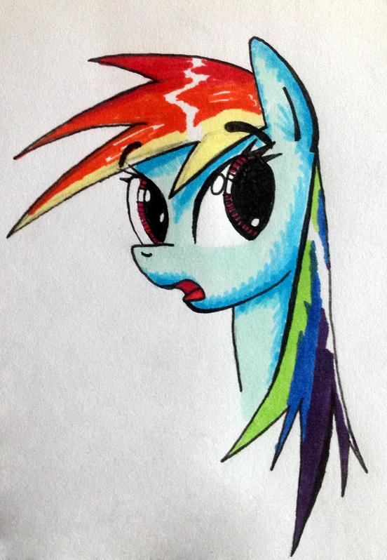 Rainbow Dash by kiriALL