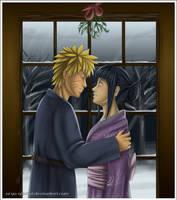Naruto - Hinata: Merry Xmas by Arya-Aiedail