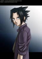 Sasuke - by AzuOo by Arya-Aiedail