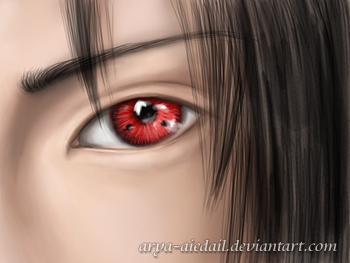 Sharingan by Arya-Aiedail