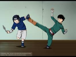 CollabwithGiulia92_Sasu vs Lee by Arya-Aiedail