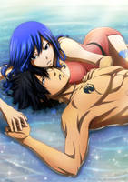 2nd version - Gruvia - I Belong To You by Arya-Aiedail