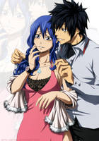 Gruvia - Happy St. Valentine's day by Arya-Aiedail