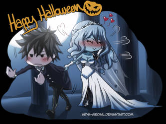 Gruvia: You may kiss the Bride 2nd part