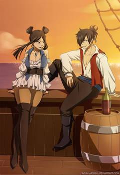 Rogue x Minerva - Pirates