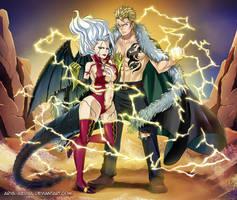Miraxus - The badass duo by Arya-Aiedail