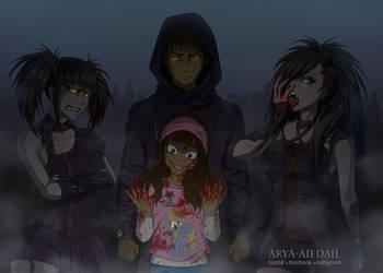 Vampires by Arya-Aiedail