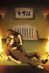 Itachi and Izumi Uchiha by Arya-Aiedail