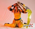 Skies of Arcadia - Aika cosplay 07 by alandria7