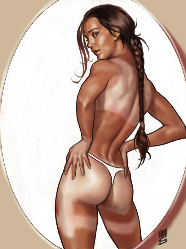 tanned Lara by latur