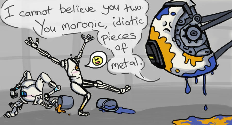 Portal - You Two... by Electrical-Socket