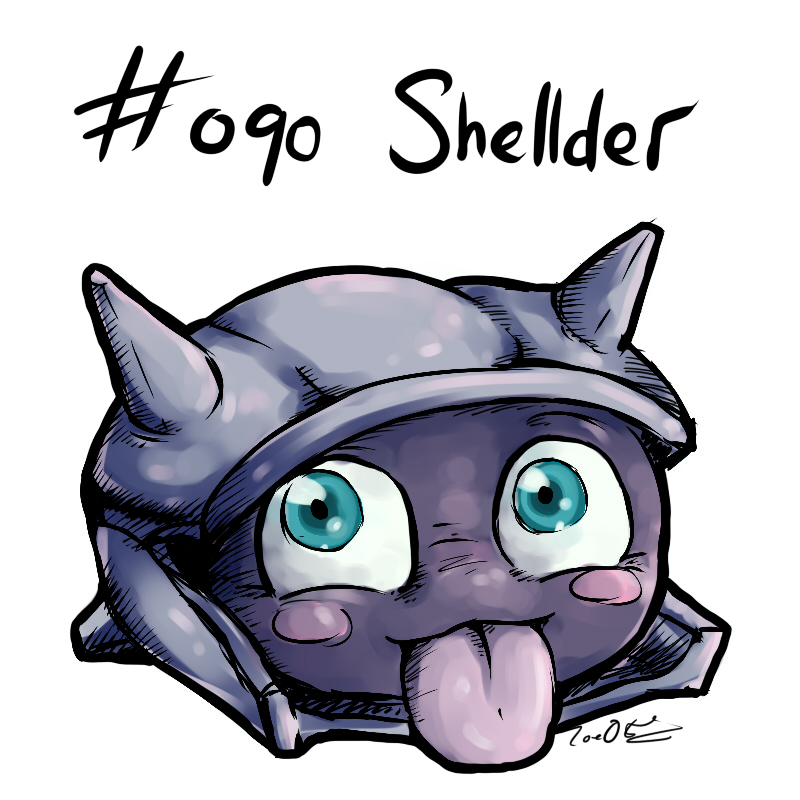 090 - Shellder by Electrical-Socket on DeviantArt