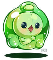 Pokemon - Duosion by oddsocket