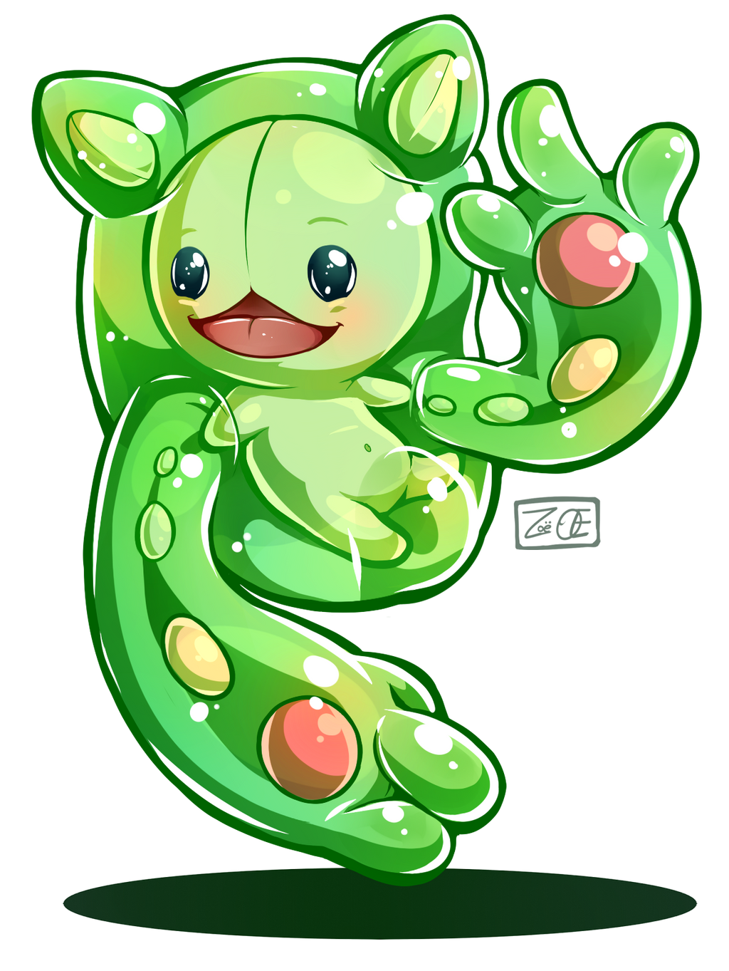 Pokemon - Reuniclus by oddsocket
