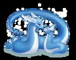 PokeddeXY - Dragonair and Dratini