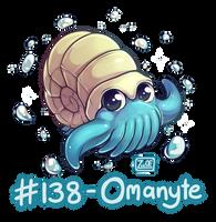 138 - Omanyte by oddsocket