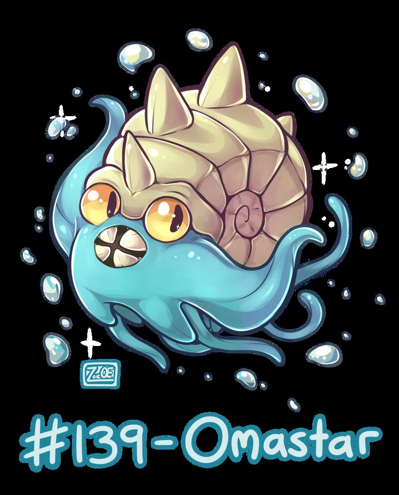 Pokemon Omastar Images