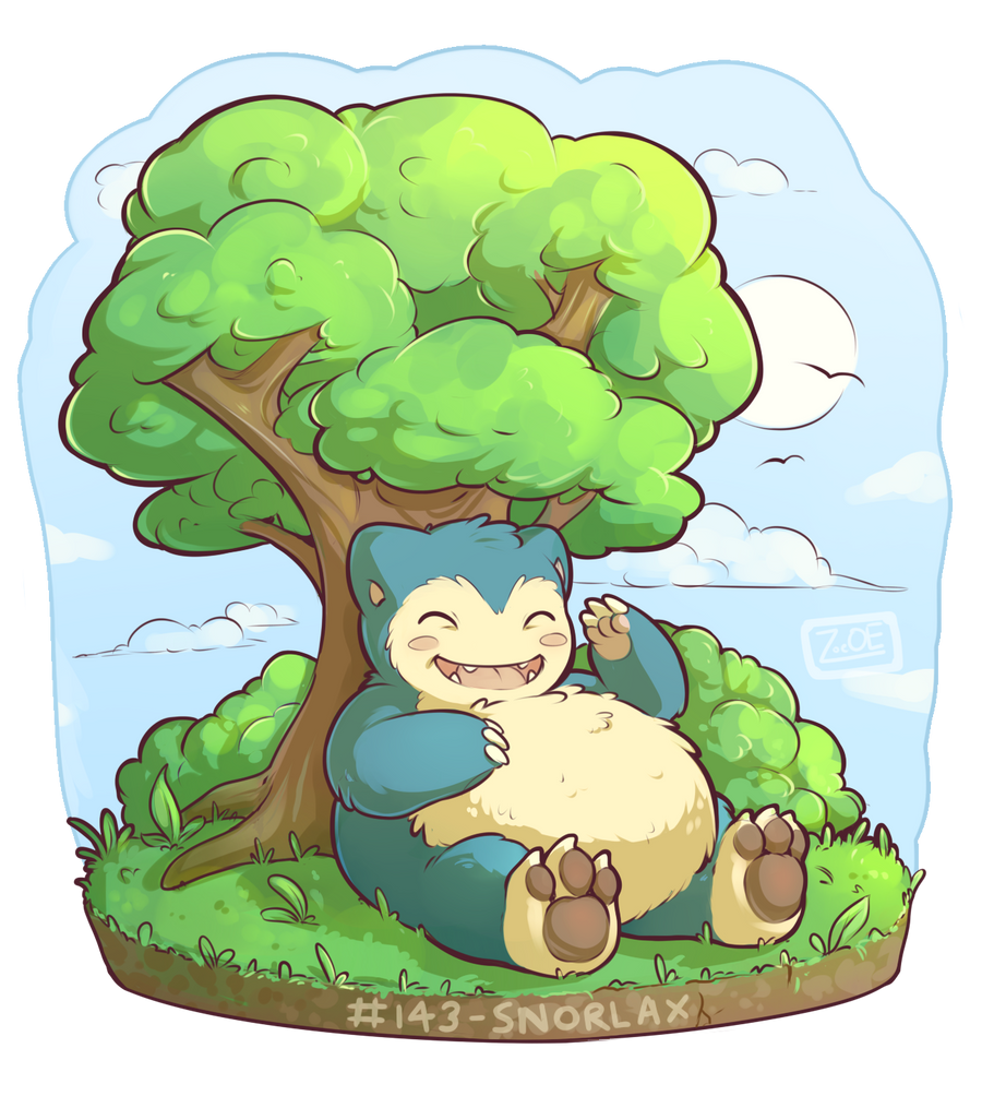 143 - Snorlax by oddsocket