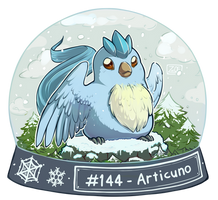 144 - Articuno by oddsocket
