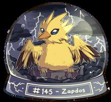 145 - Zapdos by oddsocket