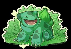 Pokemon - Bulbasaur!! by oddsocket