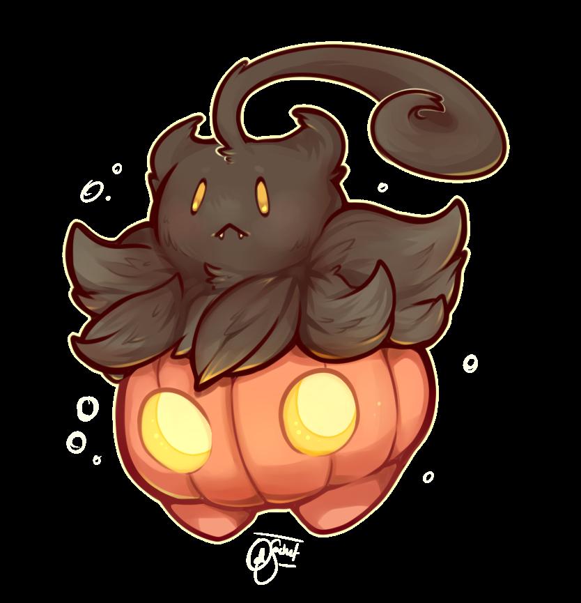 Pokemon - Happy First of Halloween! Pumpkaboo! by oddsocket on ...