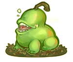 magical familiar - the biting pear
