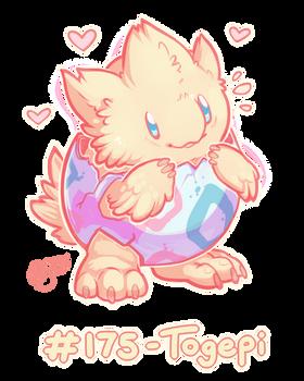 Pokemon #175 - Togepi !