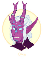 DnD - Leum, Tiefling Sorcerer