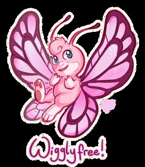 Pokefusion - Wigglyfree, the Carefree Pokemon