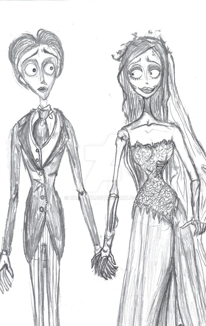 Corpse Bride-Emily and Victor by RBaileyx on DeviantArt