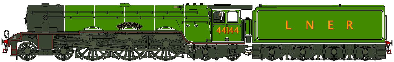 LNER Y1 4-6-4 by Lapeer