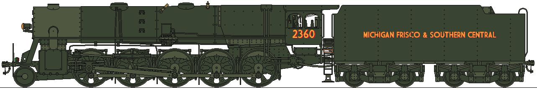 MFSC 2-10-0 2360 Class by Lapeer