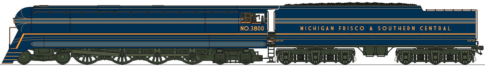 MFSC Streamliner No.3800 by Lapeer