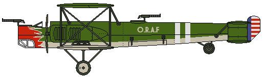 ORAF B-1 Biplane Bomber by Lapeer