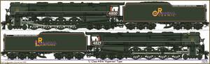 Oceanic Railways Class 'L' 4-8-6
