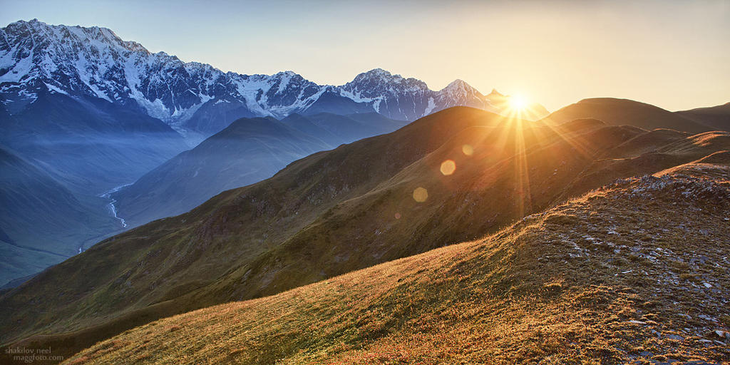Caucasus Sinrise by ShakilovNeel