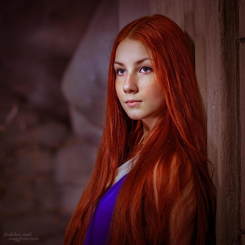 Katya Model Redhead