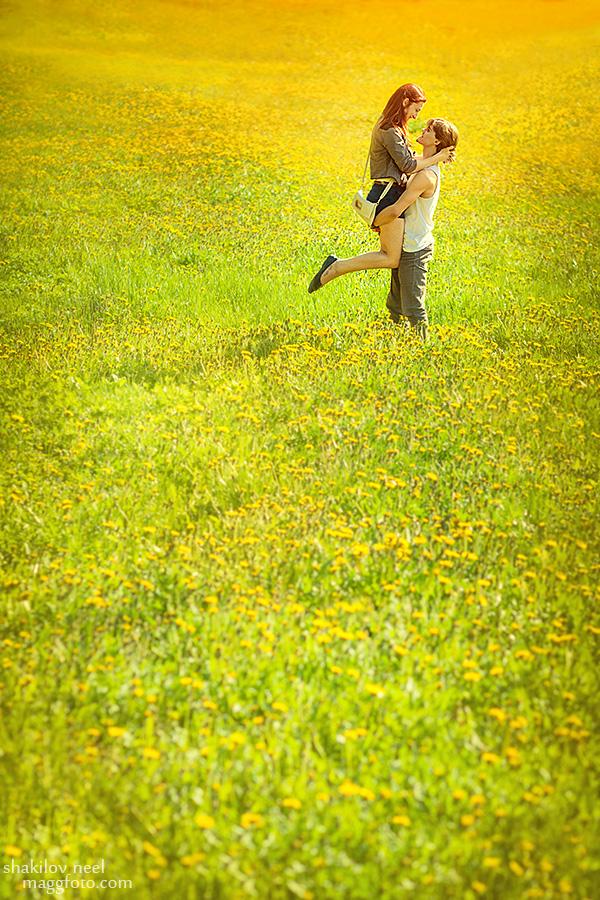 Dandelion's Field by ShakilovNeel