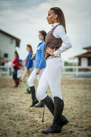 Equestrian fashion by ShakilovNeel