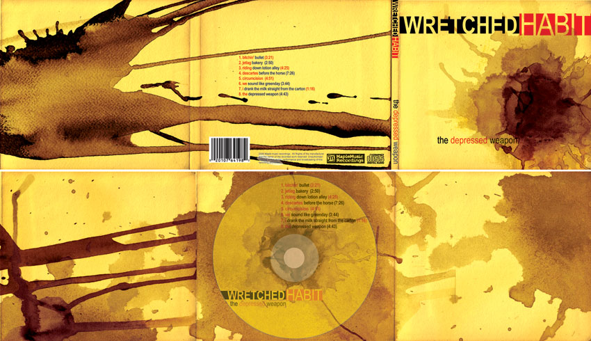 wretched habit cd cover by jinguj