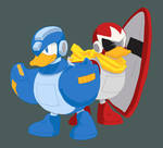 megaduck and protoduck