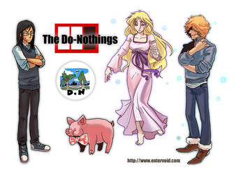 The Do-Nothings by jinguj