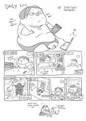 daily life of... fattyjho 01 by jinguj