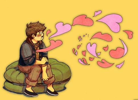 diary doodle - hopeless romantic